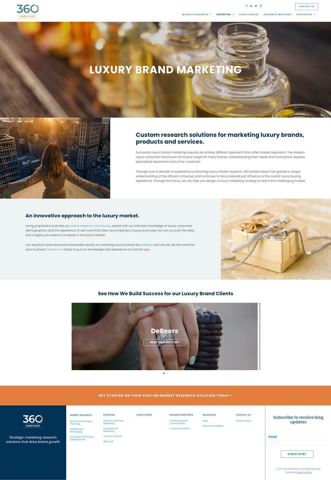 360-market-reach-website-luxury-marketing-page
