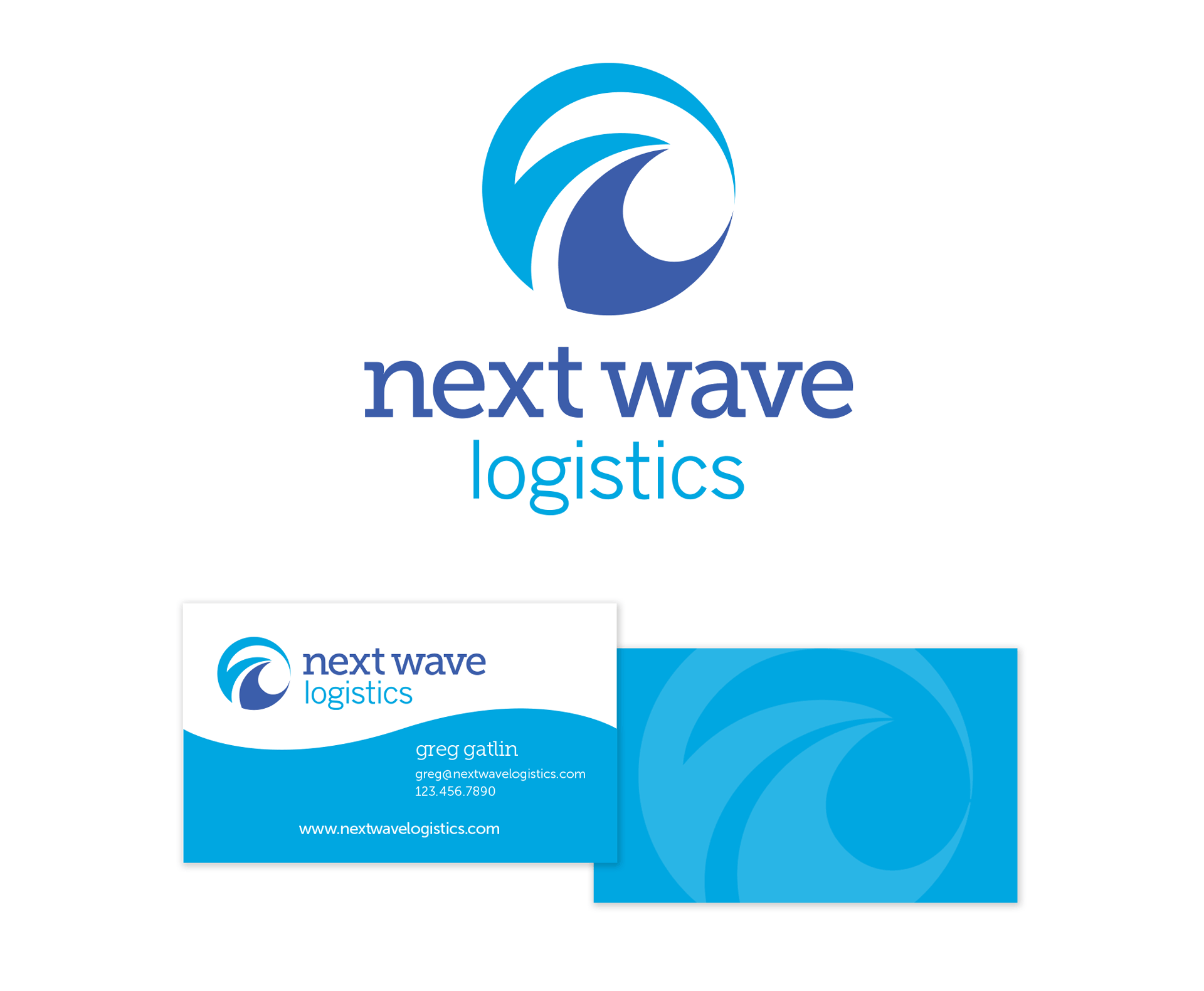 next-wave-logistics-brand-identity