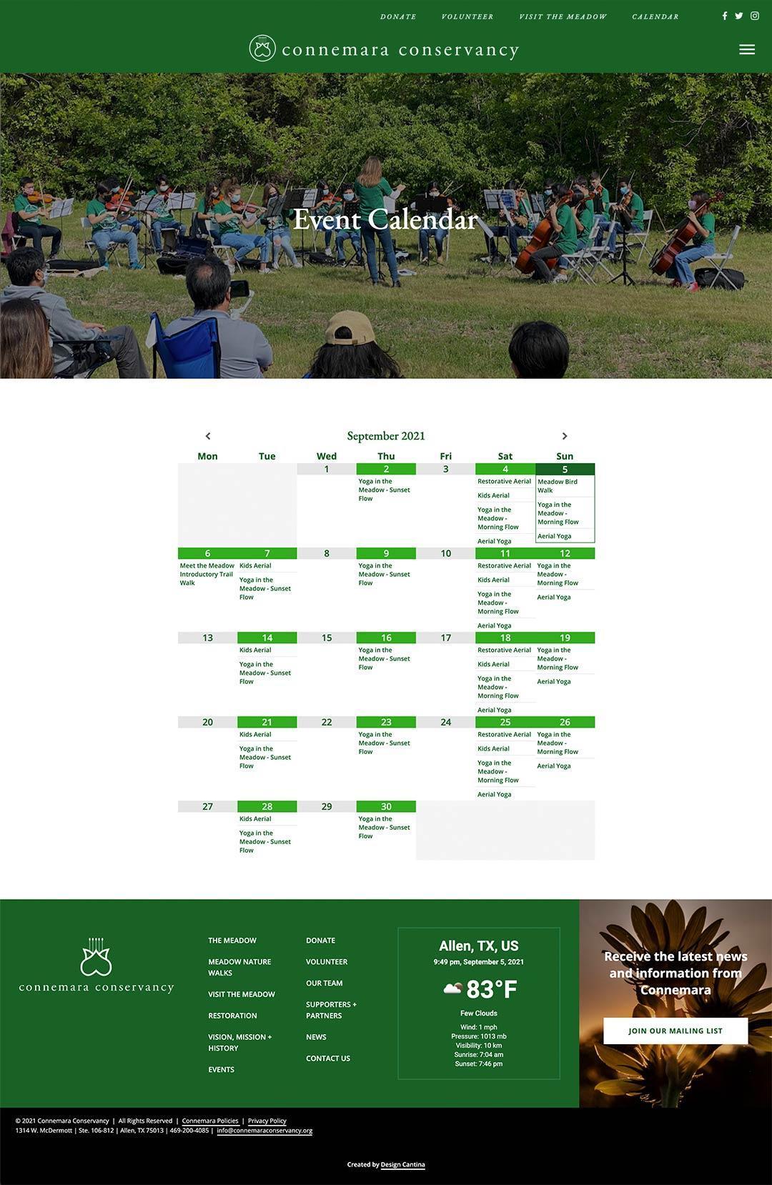 commemara-calendar-page