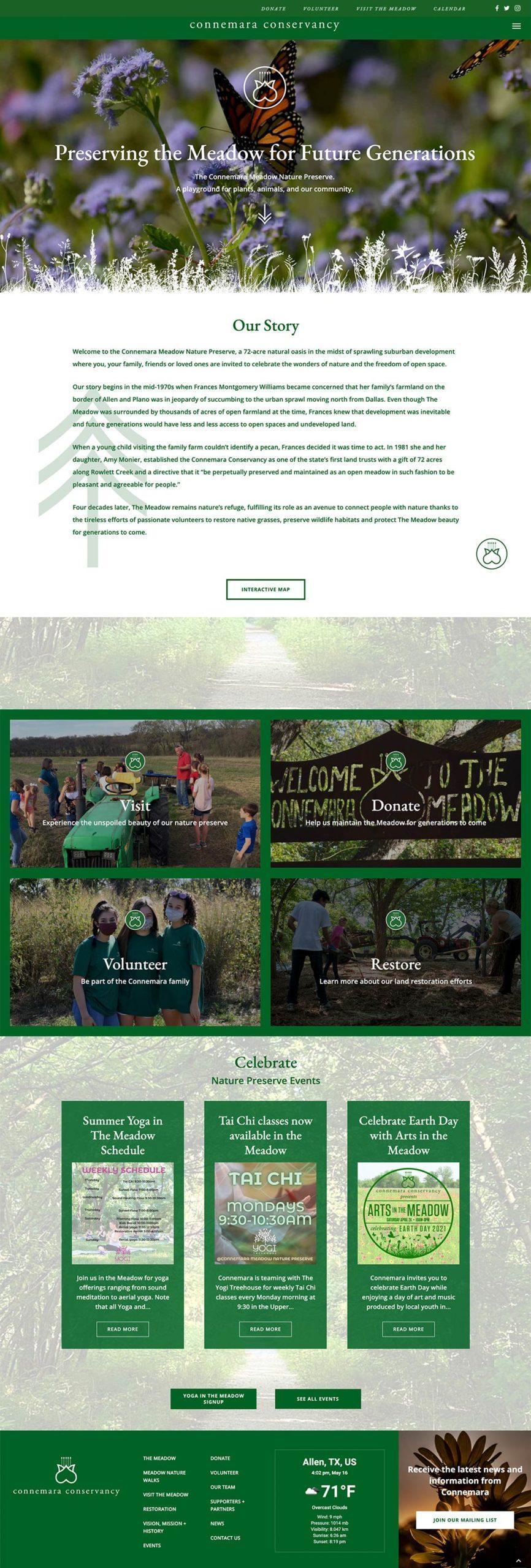 commemara-home-page