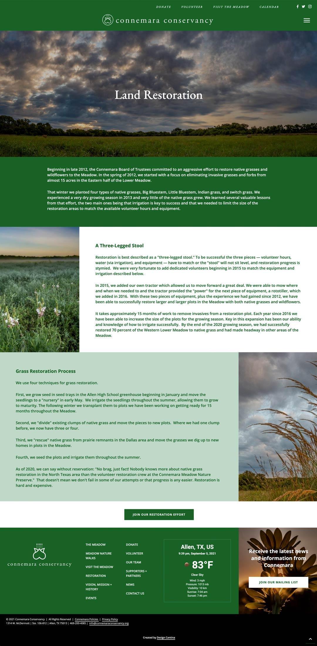 commemara-restoration-page
