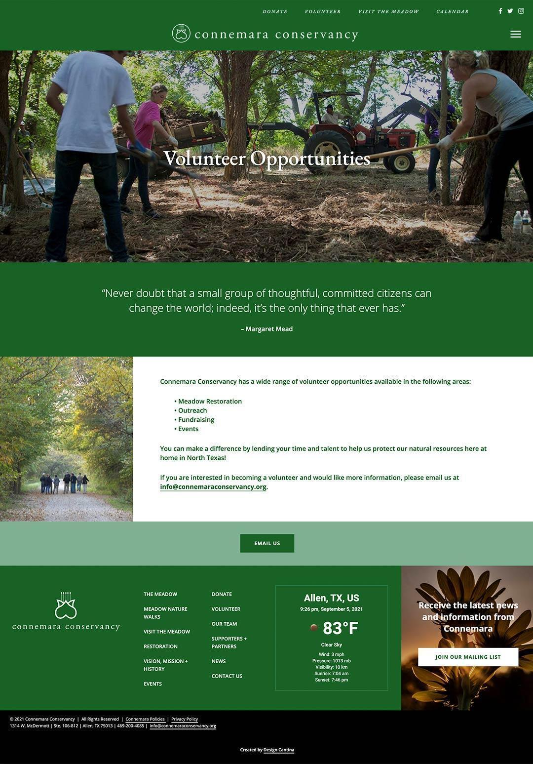 commemara-volunteer-page